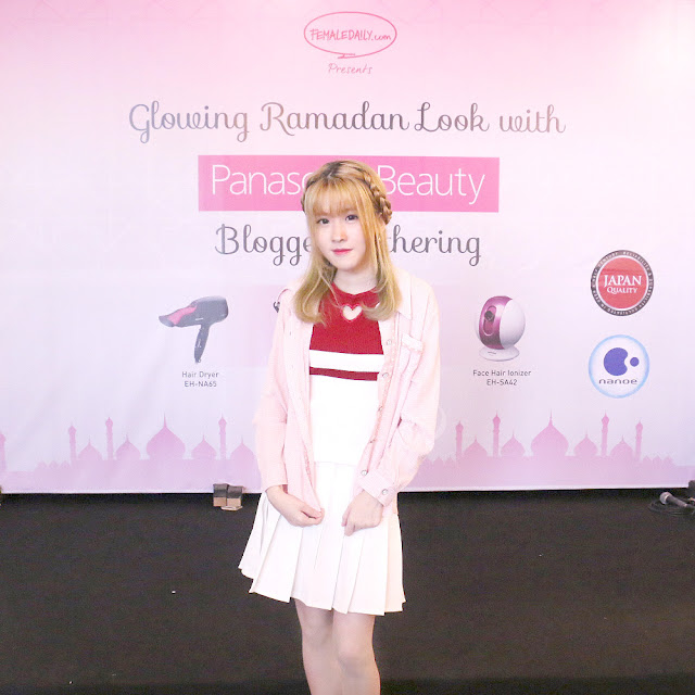panasonic beauty dan female daily event