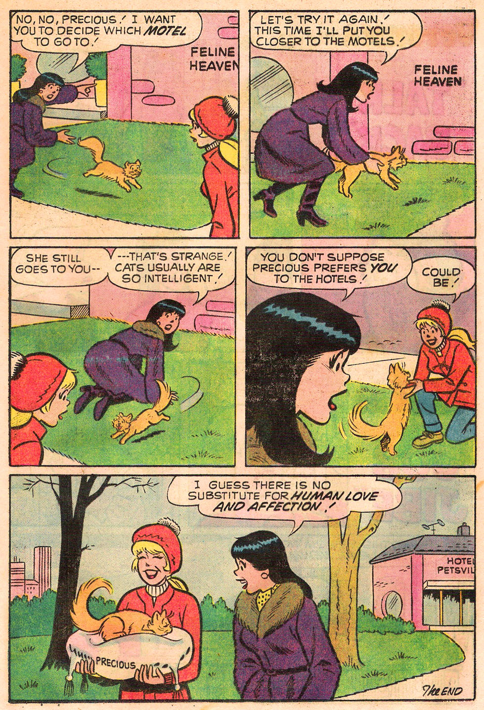 Read online Archie's Girls Betty and Veronica comic -  Issue #245 - 17
