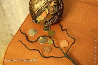 Денежное дерево: Талисман на прибыль своими руками (МК)