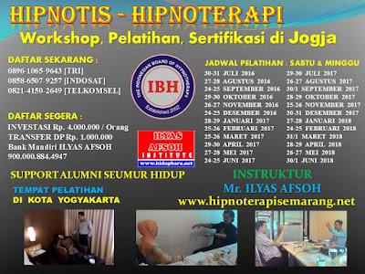 Sertifikasi Hipnoterapis Indonesia di Jogja 2016