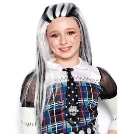 Monster High Justice Frankie Stein Wig Child Costume