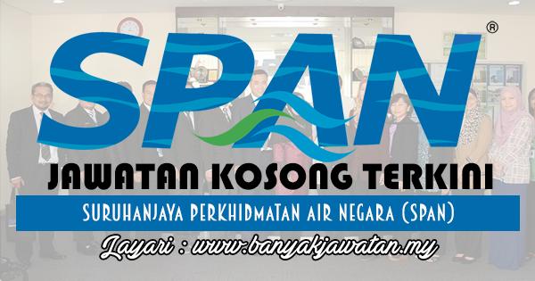 Jawatan Kosong 2017 di Suruhanjaya Perkhidmatan Air Negara (SPAN) www.banyakjawatan.my