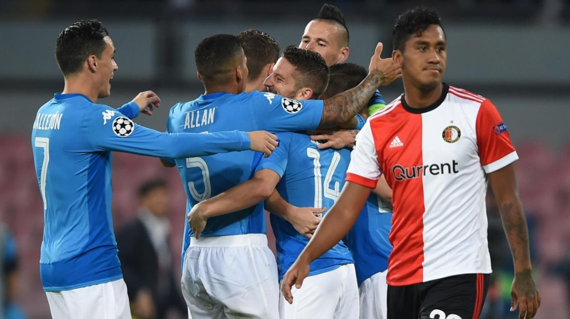 FEYENOORD-NAPOLI Streaming Gratis: info YouTube Video Facebook Live-Stream Online
