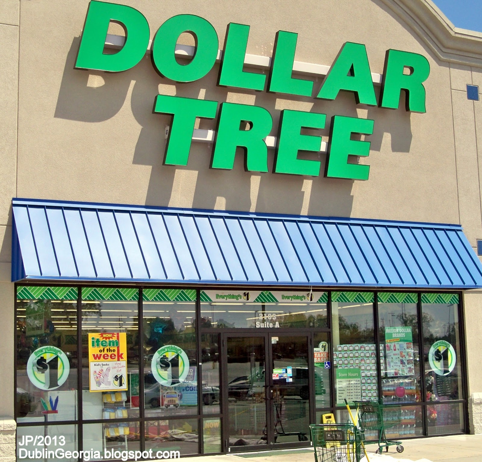 Dollar Tree Store Locator Inc: DUBLIN GEORGIA Laurens Restaurant Attorney Dr.Hospital