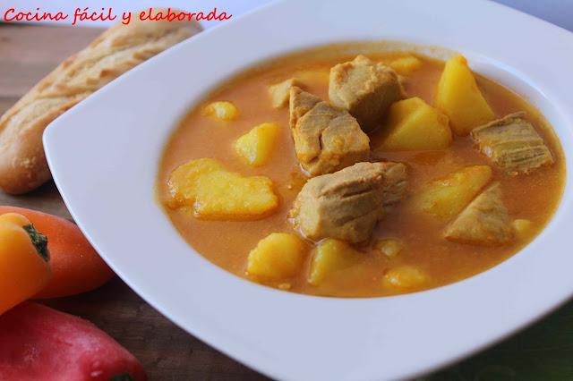 Cocina facil y elaborada marmitako de atun con y sin thermomix - Cocina facil y saludable thermomix ...