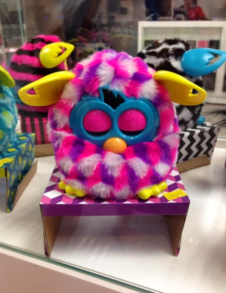 Furby boom pink
