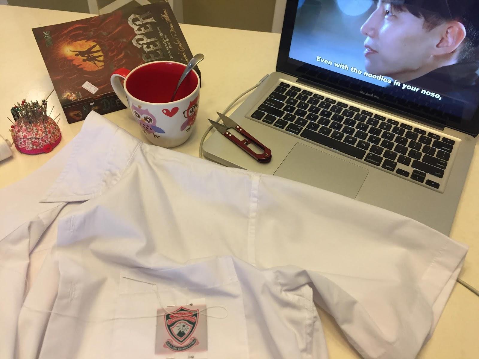 mengadap baju dan drama korea