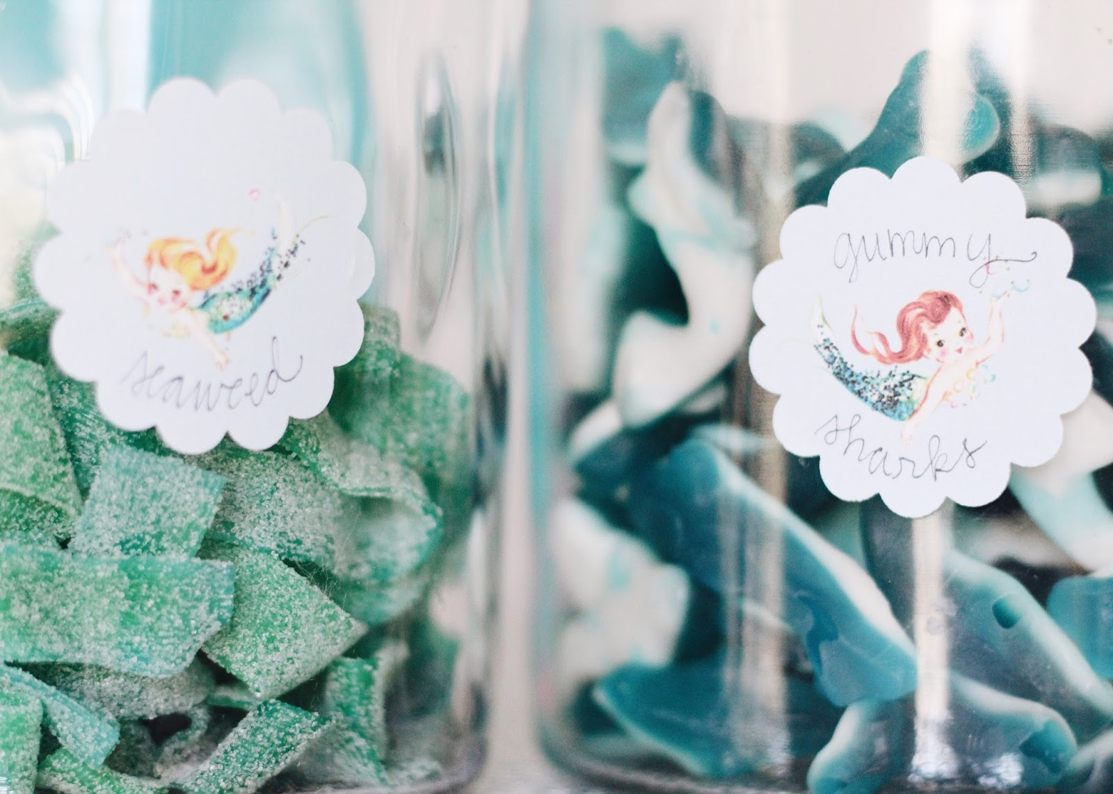Harpers Mermaid Inspired 4th Birthday Party GarvinAndCocom
