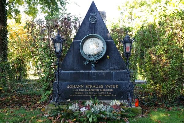 vienne cimetière central zentralfriedhof tombe johann strauss père
