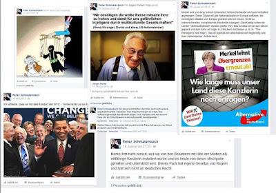 Un político alemán publicó teorías conspirativas antisemitas en Facebook