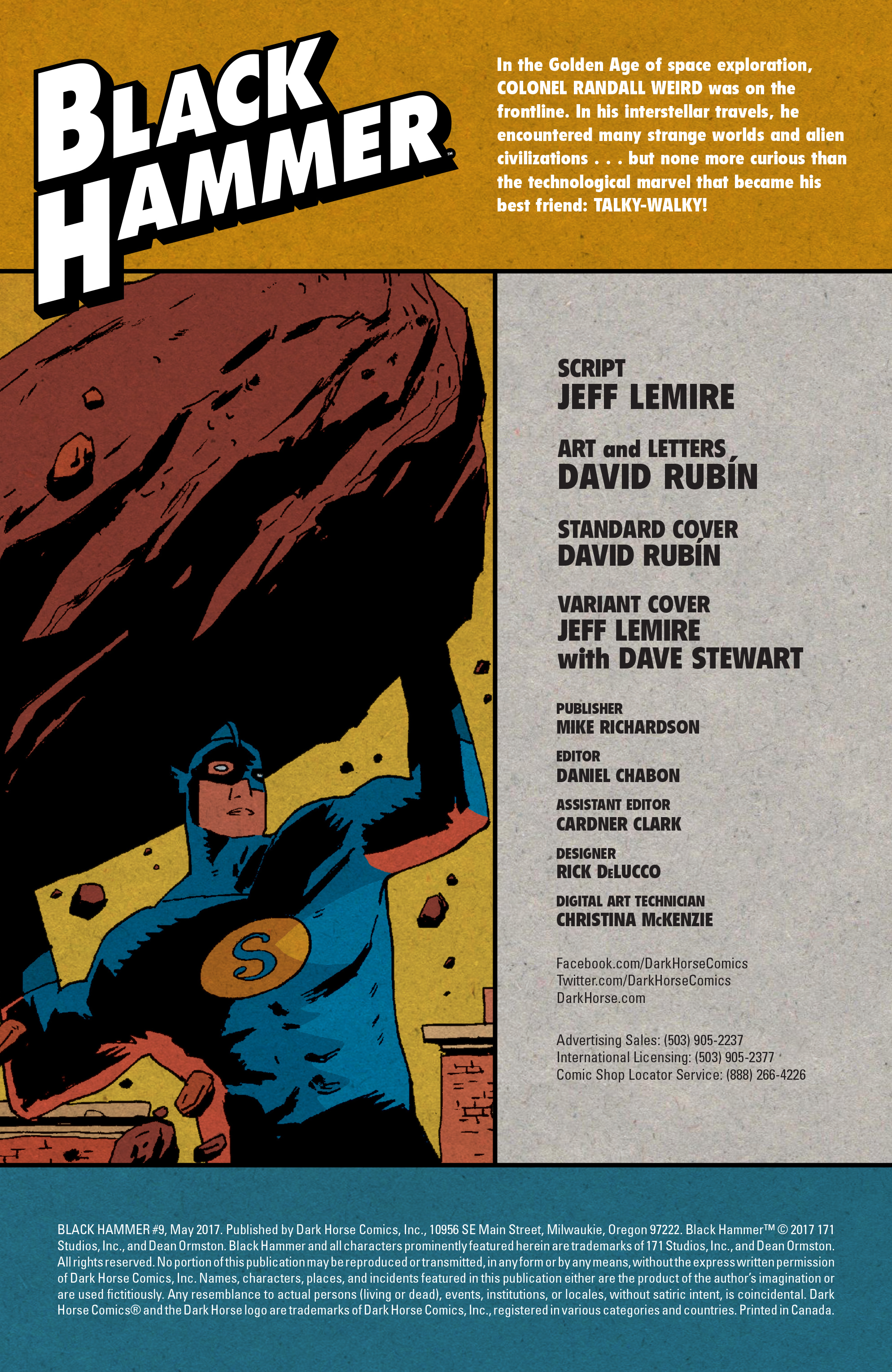 Read online Black Hammer comic -  Issue #9 - 3