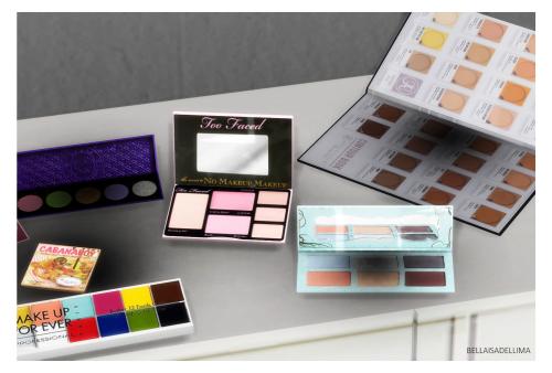 My Sims 4 Blog: TS3 Random Makeup Decor Conversions by Bellaisadellima