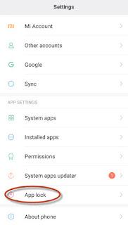 hal tertentu yang berdasarkan kita dianggap penting dan bukan untuk konsumsi publik Cara Praktis mengunci aplikasi android di hp xiaomi miui 7 & 8 tanpa aplikasi pihak ke 3
