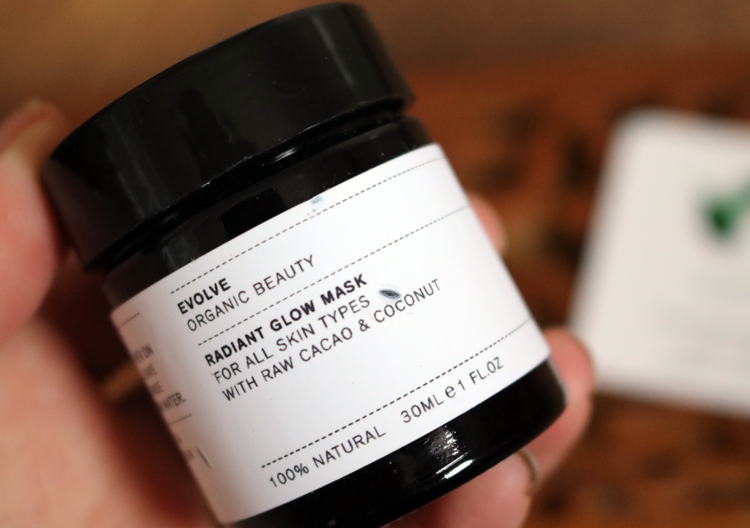 Evolve Beauty Radiant Glow Mask review