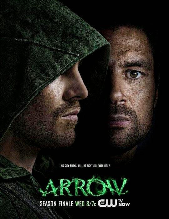 Poster Arrow pentru finalul Sezonului 2
