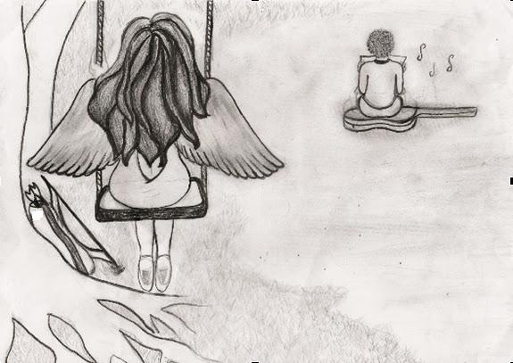 Desenhos Tristes De Amor Com Frases