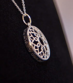 Avon Sterling Silver You Are My Sunshine Necklace