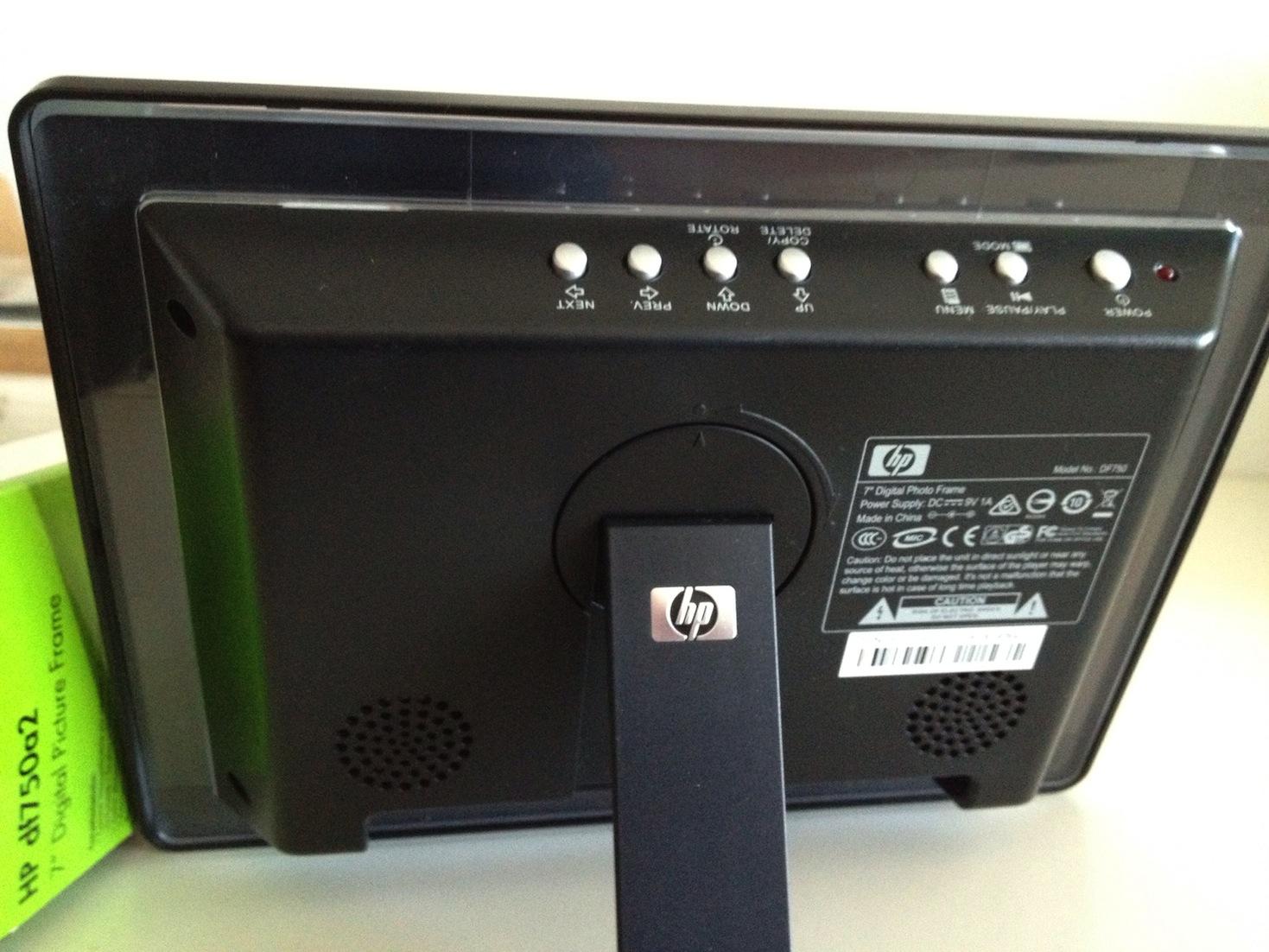 El Mercadillo de Fosfa: Marco Digital HP DF750A2 7\