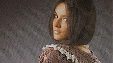 Blusa romántica al crochet