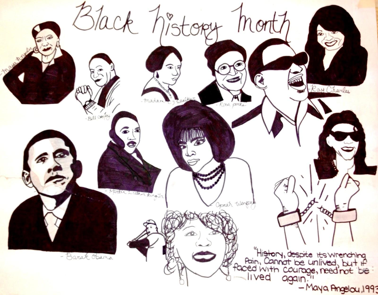 The Helpful Art Teacher: Black History Month [ 1248 x 1600 Pixel ]