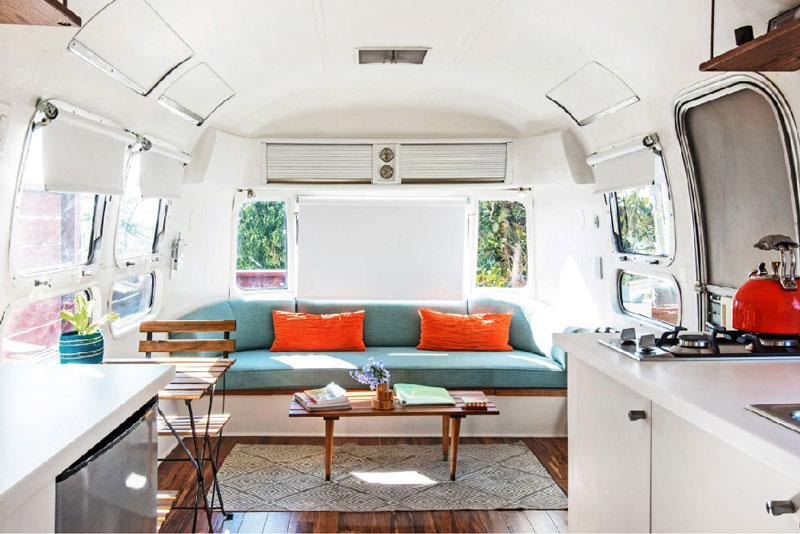 Idee Per Interni Roulotte : Airbnb: 6 camper e roulotte per unimperdibile vacanza on the road
