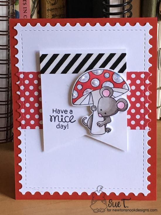 Have a mice day by Sue features Garden Mice and Framework by Newton's Nook Designs; #newtonsnook