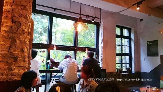【台北中山美食餐廳】光一咖啡一館-捷運中山站綠意窗景秘密二樓咖啡廳-城市小確幸