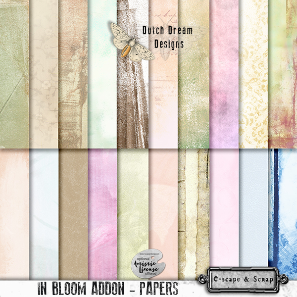 IN BLOOM ADDON PAPERS