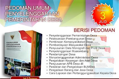 Jual Buku Pedoman Umum Penyelenggaraan Pemerintahan Desa 3 Jilid