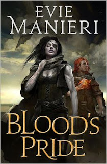 Interview with Evie Manieri, author of Blood's Pride, and Giveaway - February 21, 2013