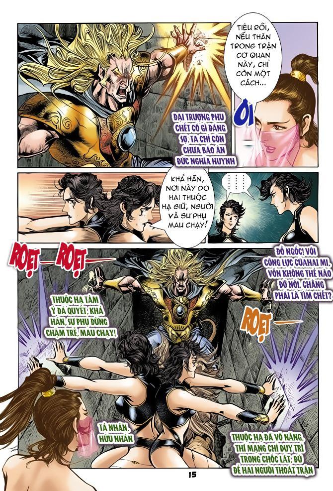 Đại Đường Uy Long chapter 50 trang 15