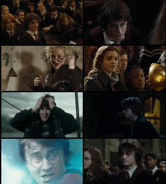 Harry Potter And The Goblet Of Fire 2005 Dual Audio Hindi 720p BluRay 1.1GB
