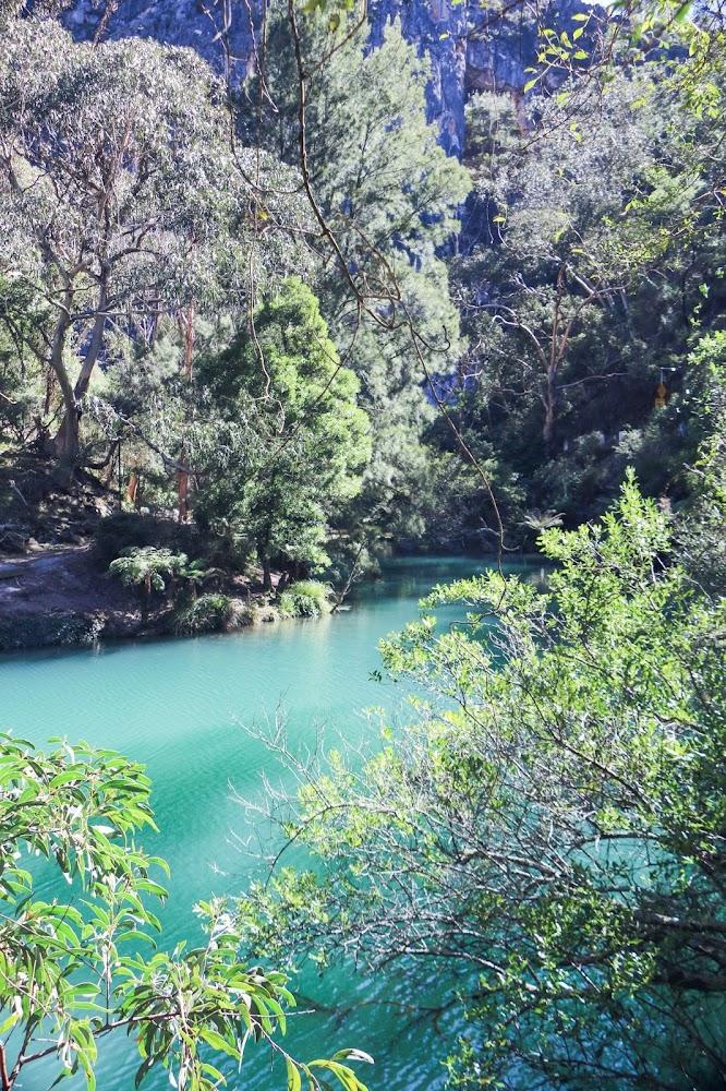 The Blue Lake Walk Jenolan Caves NSW Hike