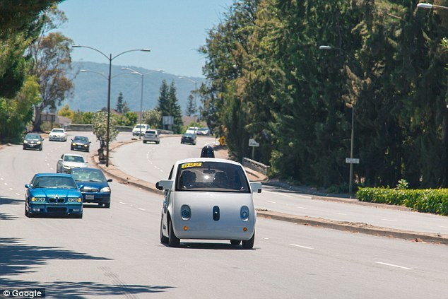 Google first unmanned vehicle occupant injuries