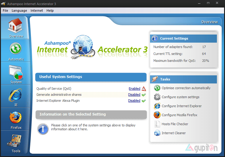 Download Ashampoo Internet Accelerator 3 Full Legal License Key 1