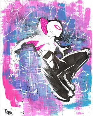 Spider Gwen por Robbie Rodriguez