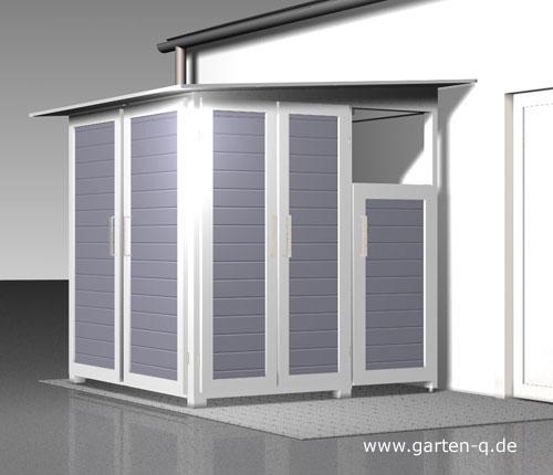 garten q moderne gartenh user gartenschr nke m llboxen und unterst nde april 2012. Black Bedroom Furniture Sets. Home Design Ideas
