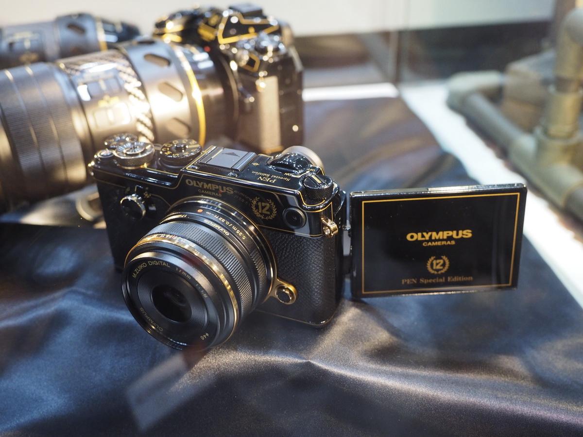 Olympus Pen F и M.Zuiko 17mm f/1.8 в черно-золотом исполнении