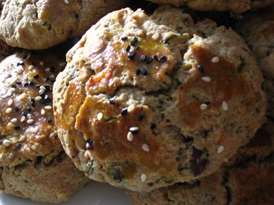 Feta and Olive Dill Scones