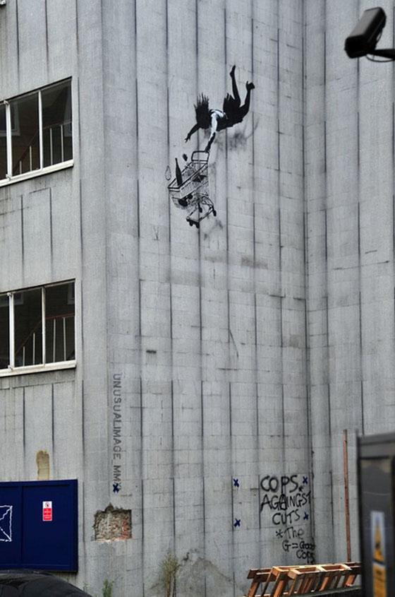 Banksy Shop Til You Drop Black Friday Damn Cool Pictures