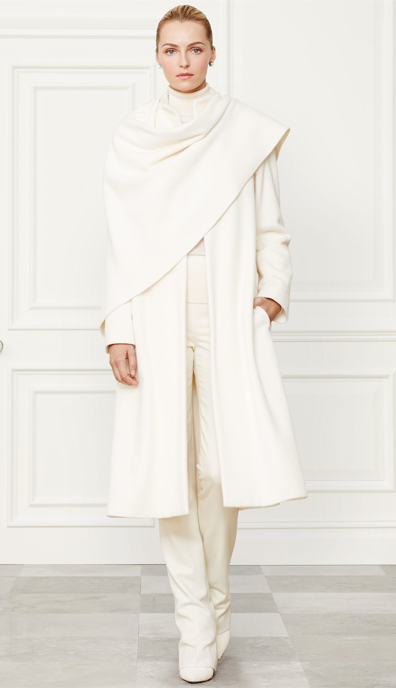 Ralph Lauren Marielle Coat Fall 2014 Collection