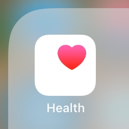 App icon with white square and red heart