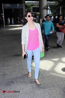 Actress Tamannaah Bhatia Pictures at the International Airport  0002