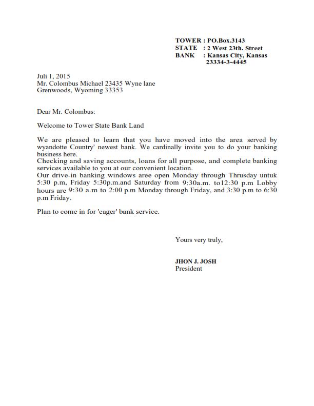 Contoh Surat Lamaran Full Block Style Bahasa Inggris