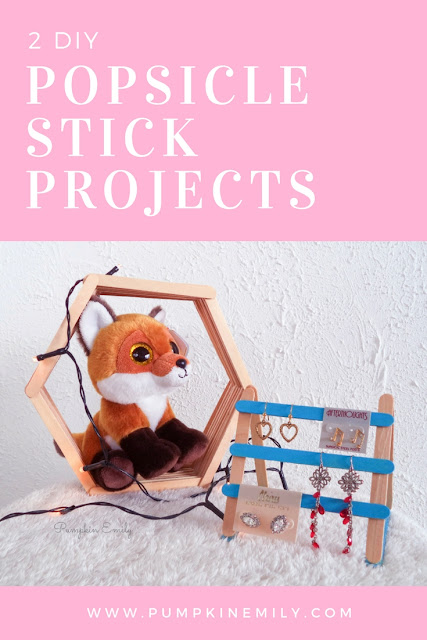 2 DIYs That You Can Make With Popsicle Sticks