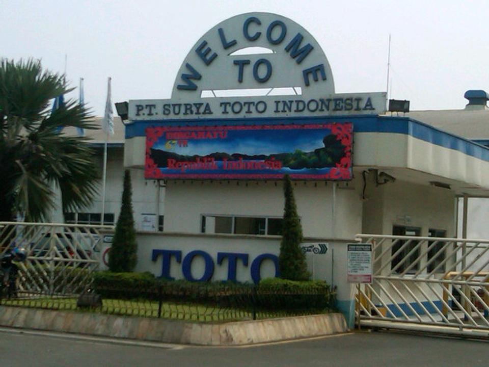 Baru Loker Tingkat SMK/SMA Tangerang PT Surya Toto Indonesia Membuka Lowongan Kerja 2017