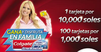 [Sorteo] Gana tarjetas TEBCA por S/10000 y S/1000 - Promoción Colgate