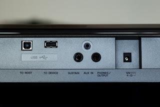 Cara Menggunakan USB Connector Di Bagian Belakang Keyboard PSR E 443