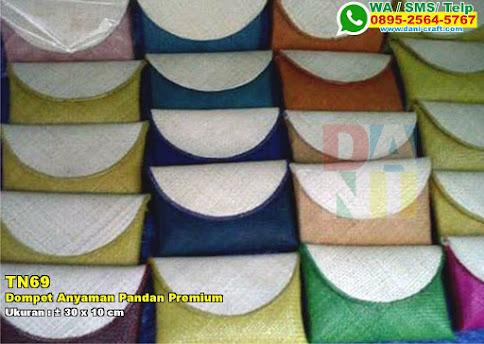 Dompet Anyaman Pandan Premium