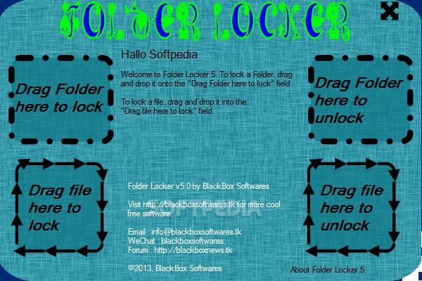 تحميل برنامج قفل الملفات بكلمة سر للكمبيوتر Folder Locker 5.0